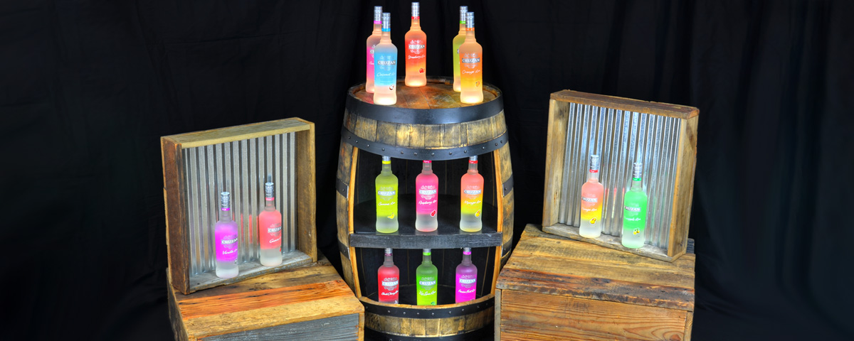 Cruzan Rum Display